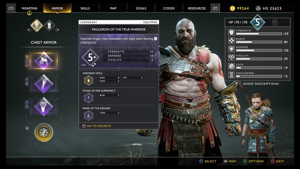 Fully Decked out Kratos